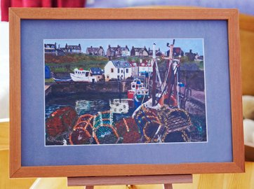 St Abbs and Lobster Pots